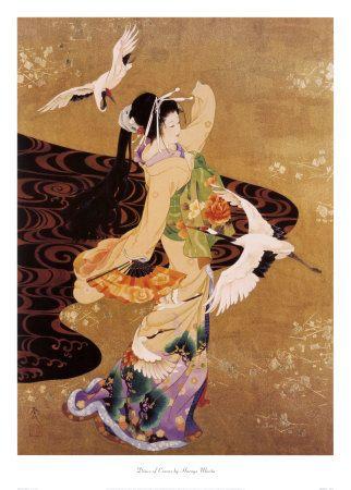 Dance of Cranes  Morita, Haruyo