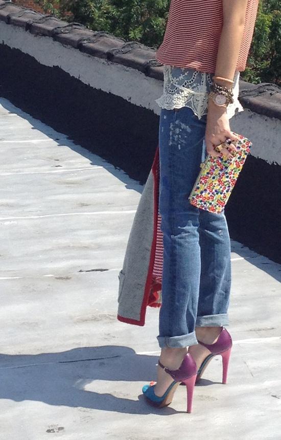 Vintage Handbag, Vintage Jacket