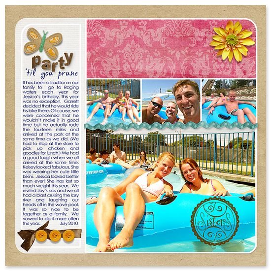 Layout by Anna #scrapbook #layout