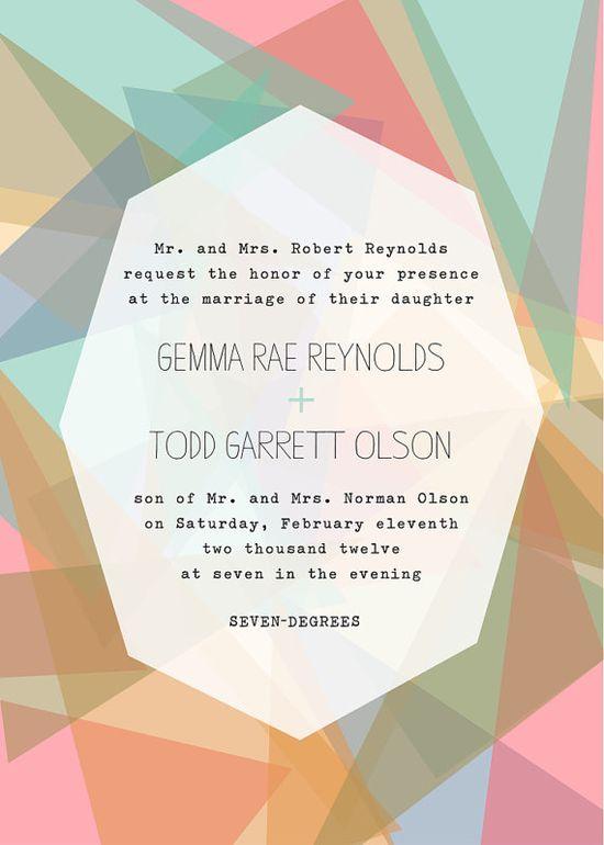 invitation design.