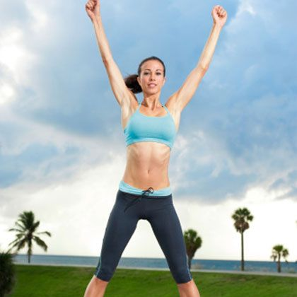 Short on time? This fat-blasting workout will help you get an effective cardio burst in just 5 minutes. (No joke!)