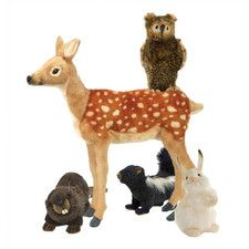 Woodland Stuffed Animal Collection III