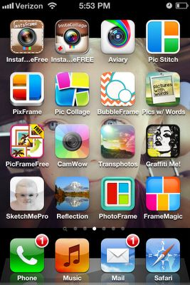 Apps for photography