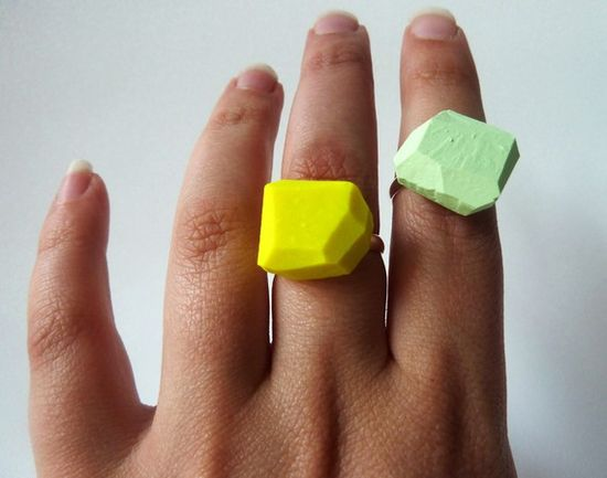 cool yellow ring