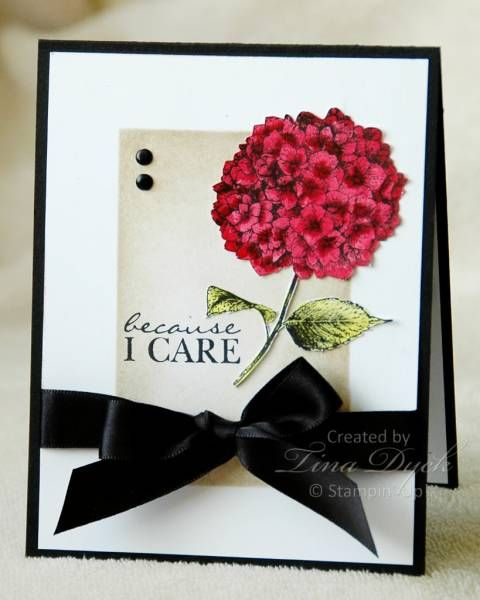 WOW! Gorgeous, classy and elegant handmade card!