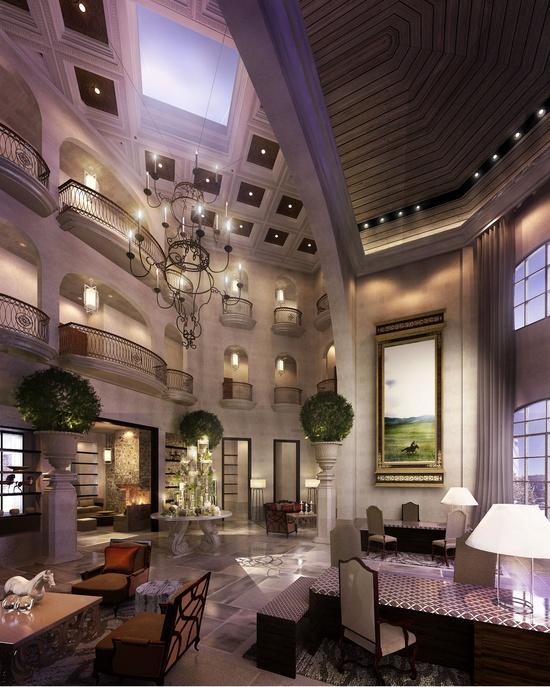 Hotel Lobby by Neil Aldrin Santander at Coroflot.com