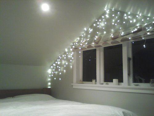 AD+SH DIY Fashion Blog: Fairy Light Bedroom Decoration Inspiration