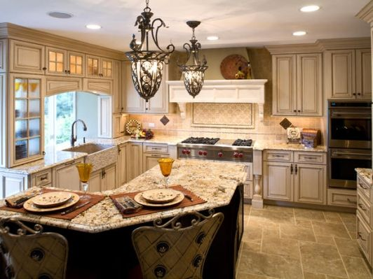 BEAUTIFUL CUSTOM KITCHEN CABINETS - Home and Garden Design Idea's