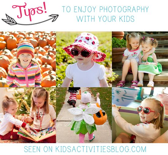 LOVE these Tips to Enjoy Photography With Your Children - mine seem to run in the opposite direction when they see my camera!