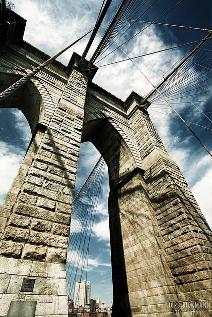 Brooklyn Bridge Pillar, NYC