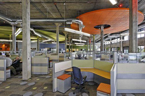 Open Plan Office - by Coaxis