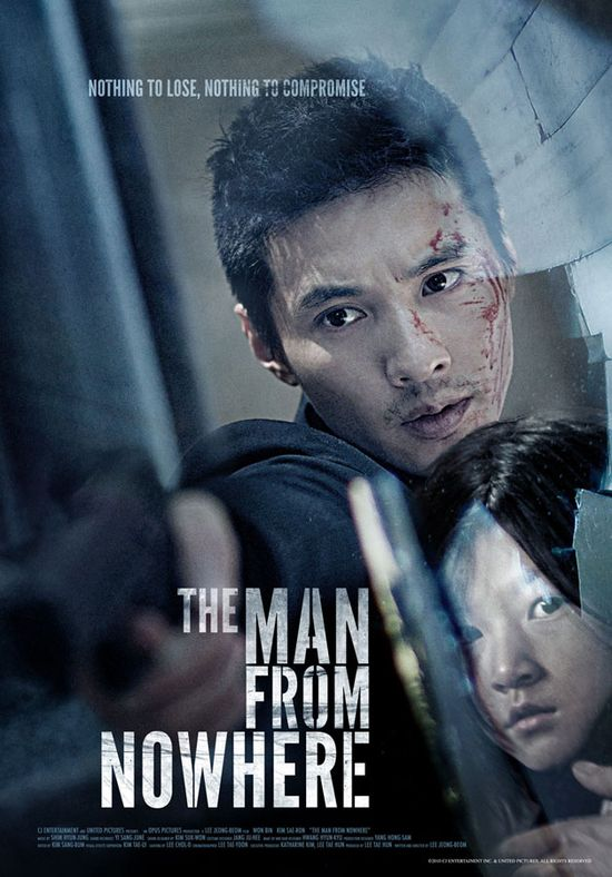 The Man From Nowhere - Great Korean Movie.  Lots of action and an entertaining story.