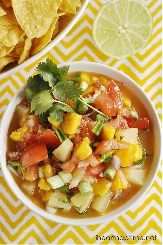Mango Salsa #better health naturally