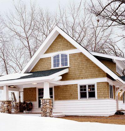 Craftsman Shingle Bungalow - Cottage Living