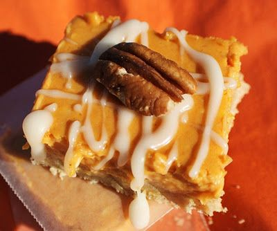 Pumpkin Cheesecake Squares Dessert Recipes