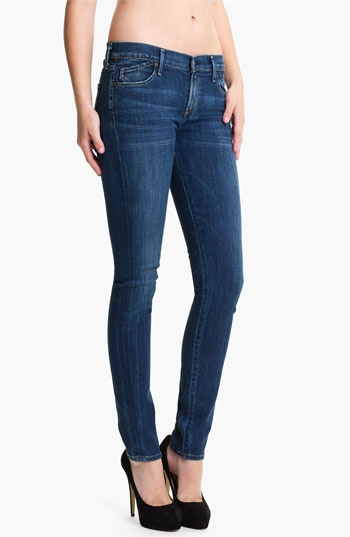Citizens of Humanity Stretch Skinny Jeans (Dark Blue)