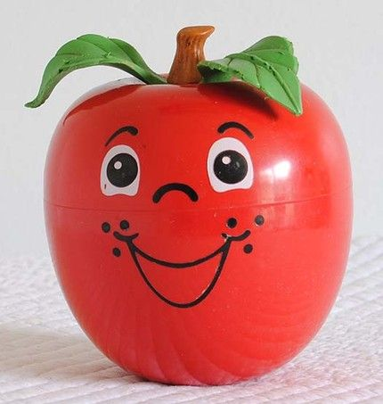 happy apple from my childhood