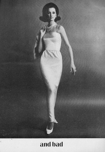 Like something extremely chic I could have seen Laura Petrie wearing. #vintage #fashion #1960s #dress