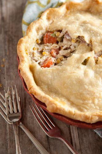 Paula Deen Savory Chicken Pie