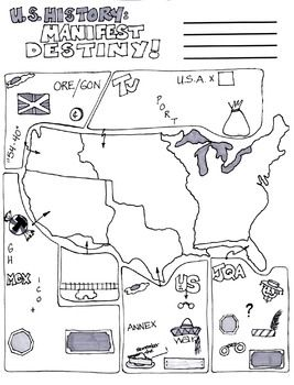 Cartoon Notes for Manifest Destiny