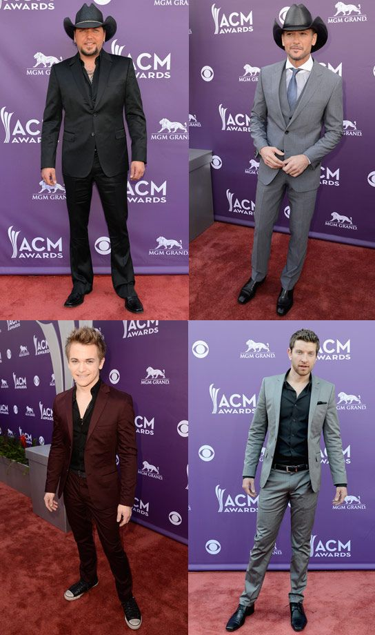 The ACMs brought out a LOT of sexy men!