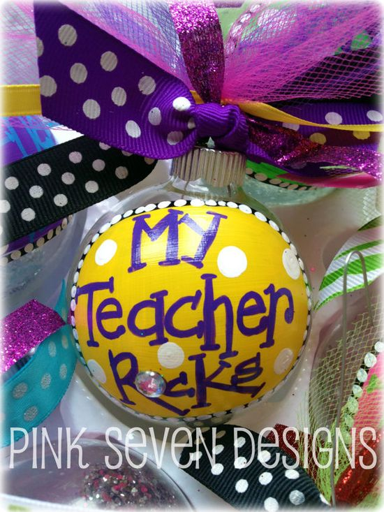 Great idea for teacher Christmas gifts!
