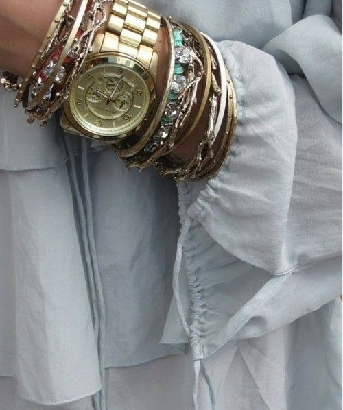 Michael Kors Watch and bracelets