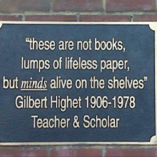 """minds alive on the shelves"""