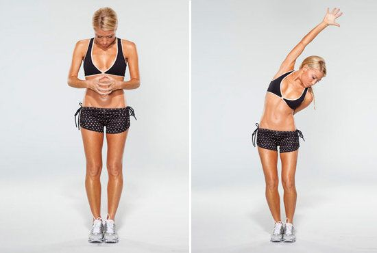 Tracy Anderson arm workout -- Gwyneth Paltrow Arm Workout For Grammy Awards 2012