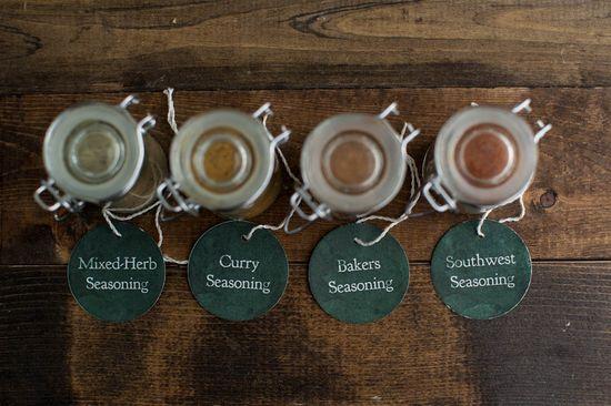 DIY Gift: Homemade Spice Blends
