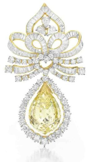 yellow diamond brooch, This is my Favorite!
