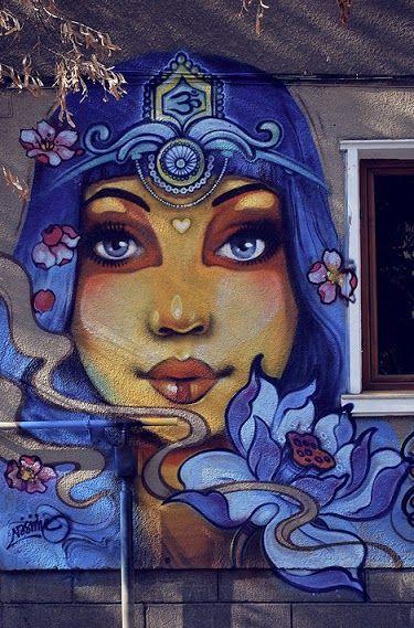 Street art by Ernaste Nasimo.