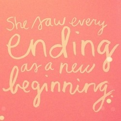 every ending is a new beginning // celebrating both the accomplishments at this end and the start of a new beginning