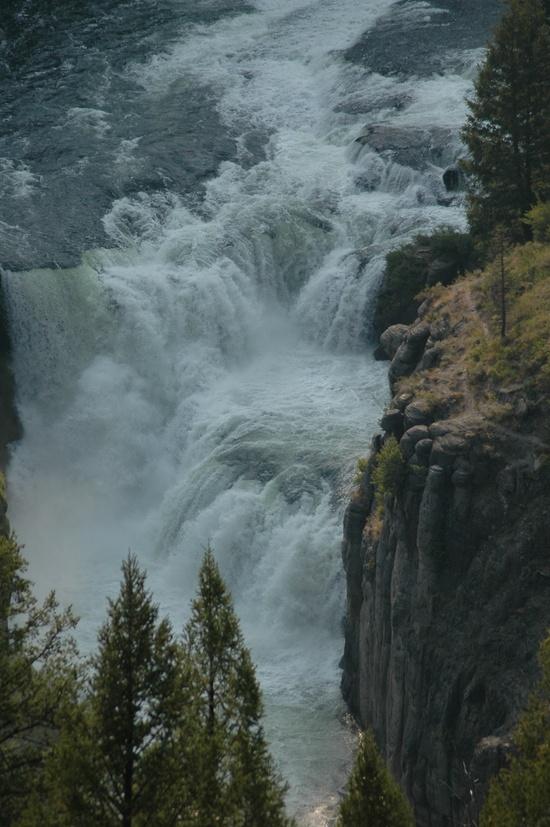Mesa Falls Scenic byway