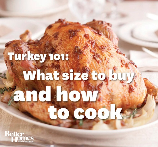 There's more to cooking a turkey than sticking it in the oven. Learn our tips for a perfect result: www.bhg.com/...