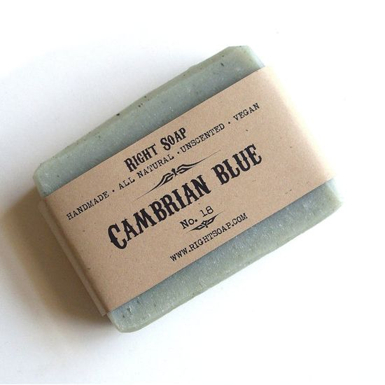 Cambrian Blue Soap  Facial and body soap #Detox by RightSoap, $6.00