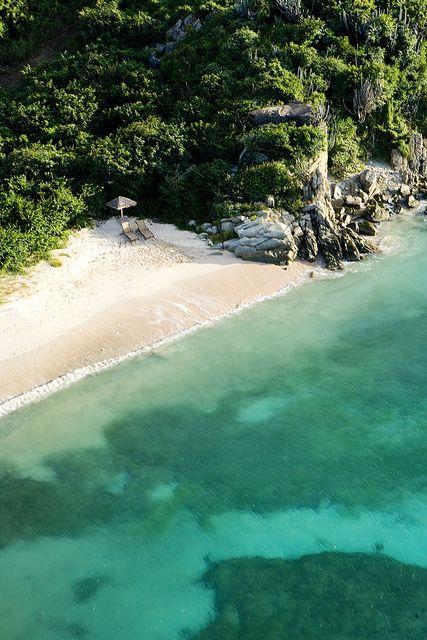 Honeymoon Beach at Peter Island Resort, British Virgin Islands