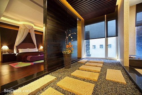 Beautiful Bed Room Interior Decoration.