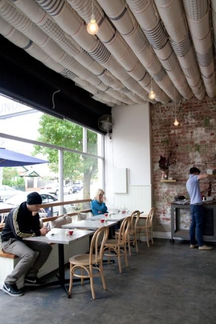 Coin laundry cafe in Melbourne: remodelista.com/...
