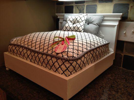 Teeny Tiny Pet Bed on Etsy, $125.00
