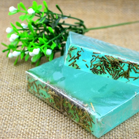 Blue sea handmade soap