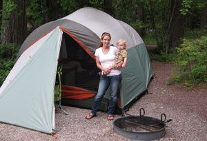 tips on how to camp with little ones* save for later*