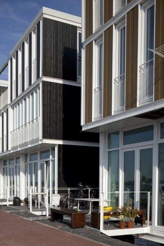 floating houses in IJburg/ netherlands- architectenbureau marlies rohmer