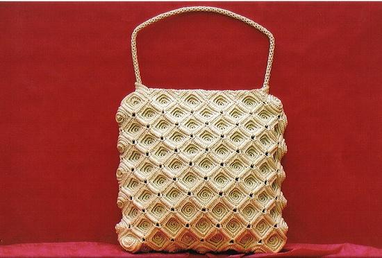 Crochet bag designed by lara.koprivica.crochet