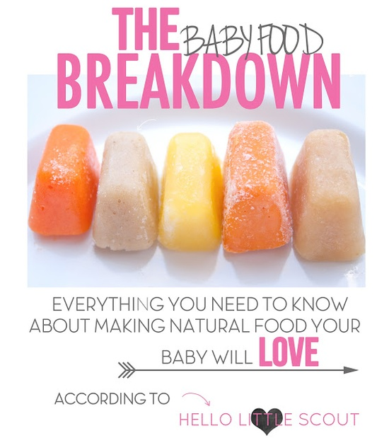Everything you need to know about making your own baby food!
