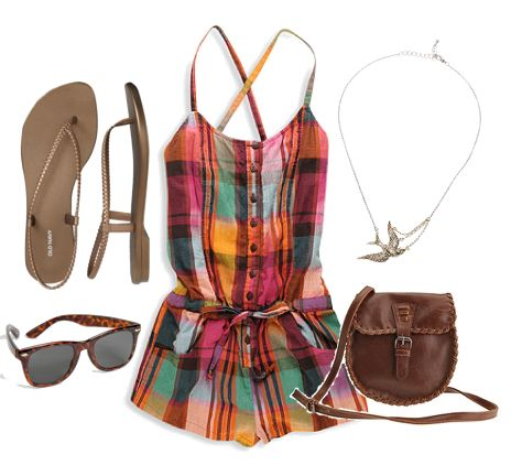 music festival Outfit idea with accessories