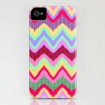 chevron iphone case available on society6 - $35