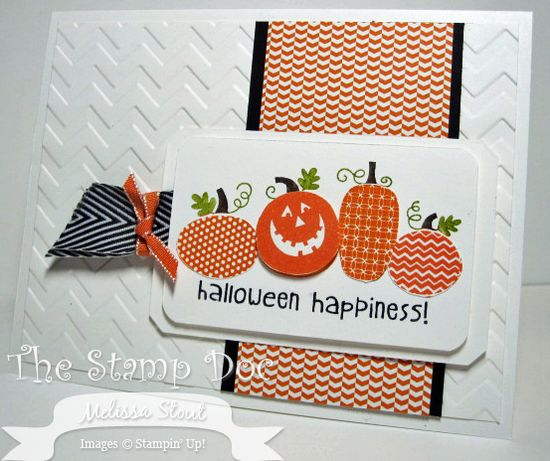 Love this card made with the new Halloween happiness stamp.