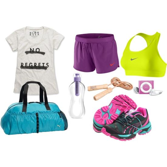 Work Out Attire!