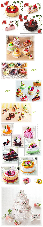 #feltro Idee creative: dolcetti in feltro